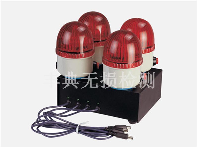 迷你警示灯由高亮度发光二极管,时电路,可充电电池组成,闪光频率40-60